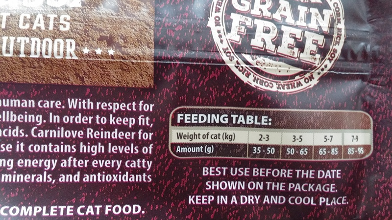 Корм для кошек - CARNILOVE Adult Cats Energy and Outdoor мясо северного оленя, 2 кг