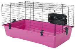 Būris grauzējiem - SAVIC Ambiente 80, 80*50*43 cm, krāsa - melna