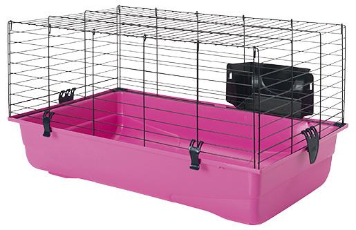 Būris grauzējiem - SAVIC Ambiente 80, 80*50*43cm, krāsa - melna