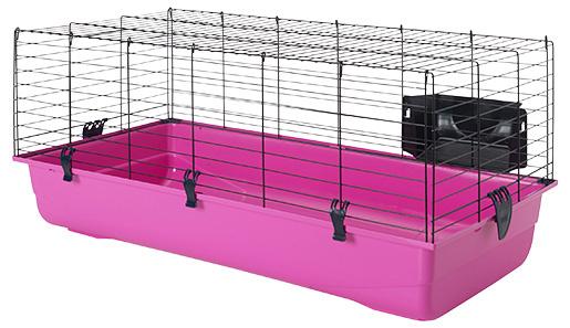 Būris grauzējiem - SAVIC Ambiente 100, 100*50*43 cm, krāsa - melna