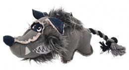 Игрушка для собак - Dog Fantasy Textile Wolf, 40 cm