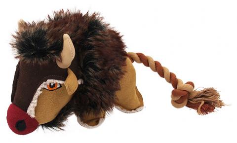 Rotaļlieta suņiem - Dog Fantasy Textile Buffalo, 33 cm