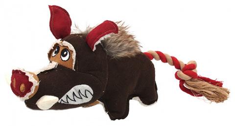 Игрушка для собак - Dog Fantasy Textile Wild boar, 35 cm title=