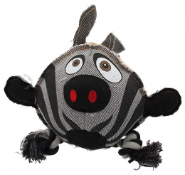 Игрушка для собак - Dog Fantasy Textile Zebra, 28 cm