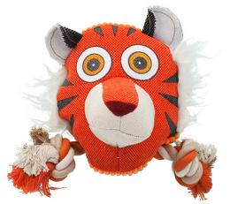 Игрушка для собак - Dog Fantasy Textile Tiger, 18 cm