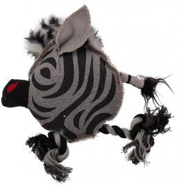 Игрушка для собак - Dog Fantasy Textile Zebra, 22 cm