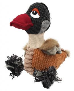 Rotaļlieta suņiem - Dog Fantasy Textile Goose, 28 cm