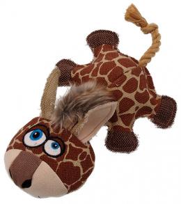 Игрушка для собак - Dog Fantasy Textile Giraffe, 32 cm
