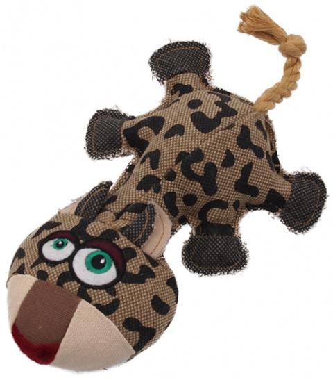 Rotaļlieta suņiem - Dog Fantasy Textile Leopard, 32 cm title=