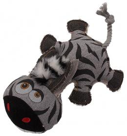 Игрушка для собак - Dog Fantasy Textile Zebra, 32 cm