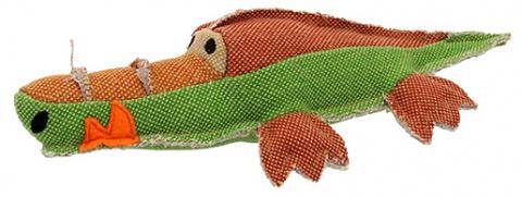 Игрушка для собак - Dog Fantasy Textile Crocodile, 30 см