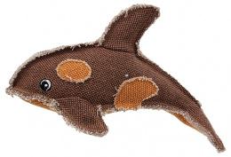 Игрушка для собак - Dog Fantasy Textile Dolphin, 26 см
