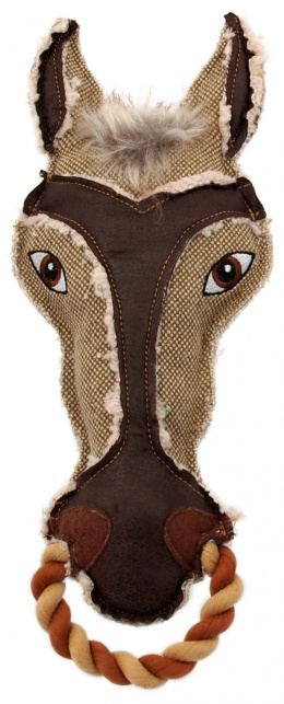 Игрушка для собак - Dog Fantasy Textile Horse, 33 см
