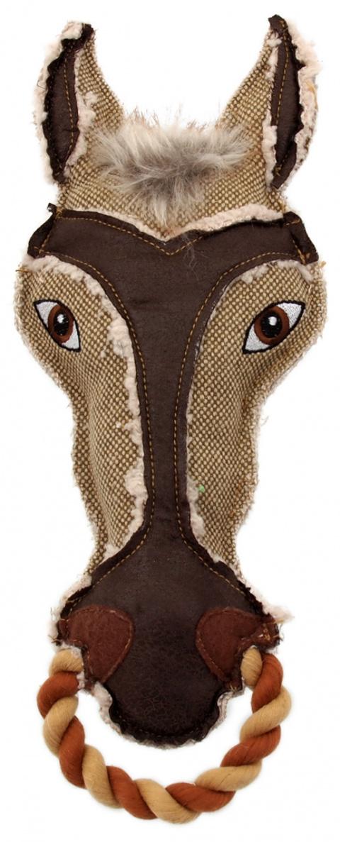 Rotaļlieta suņiem - Dog Fantasy Textile Horse, 33 cm