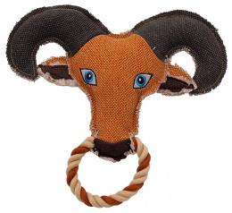 Игрушка для собак - Dog Fantasy Textile Goat, 25 см