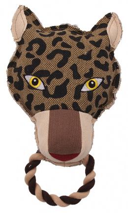 Игрушка для собак - Dog Fantasy Textile Leopard, 26 см