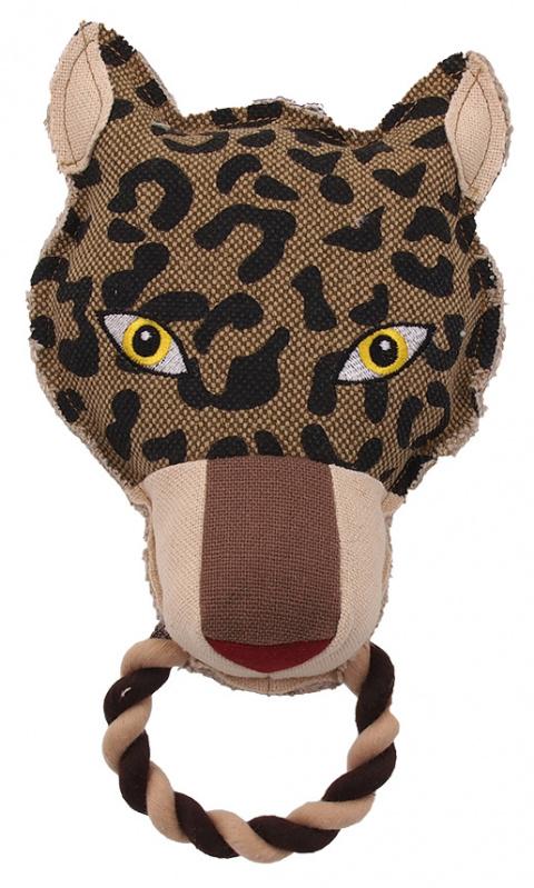 Rotaļlieta suņiem - Dog Fantasy Textile Leopard, 26 cm