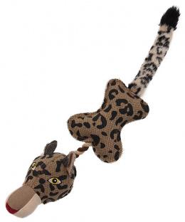 Игрушка для собак - Dog Fantasy Textile Leopard, 55 cm