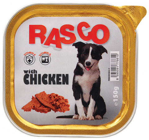 Консервы для собак - Rasco Chicken, 150g