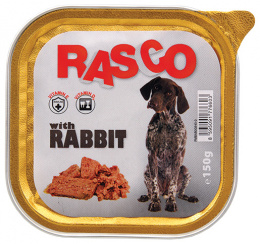 Konservi suņiem - Rasco Rabbit, 150g