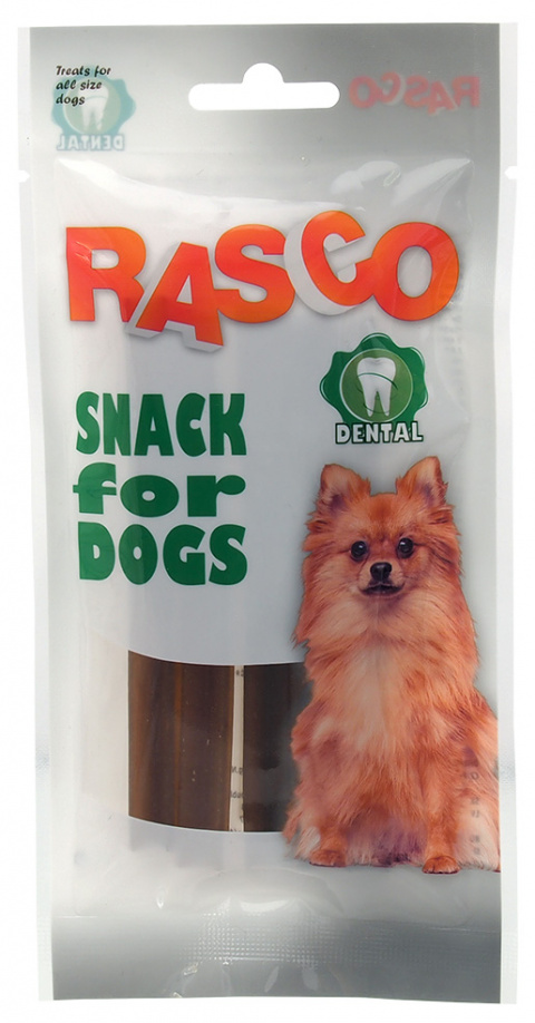 Gardums suņiem - Rasco Dental bone with propolis, 10cm, 3gb