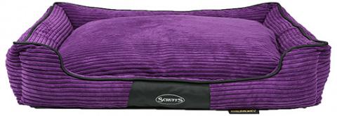 Спальное место для собак - Scruffs Milana Memory Foam Orthopaedic, 90*70*16cm, сливовй