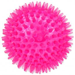 Игрушка для собак - DogFantasy Резиновая игрушка, пищащий мяч, розовый, 10cm