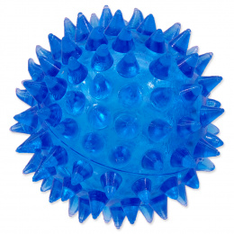 Rotaļlieta suņiem -  DogFantasy Gumijas rotaļlieta, bumba, zila, 5cm