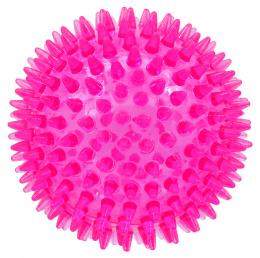 Rotaļlieta suņiem -  DogFantasy Gumijas rotaļlieta, bumba, rozā, 8cm