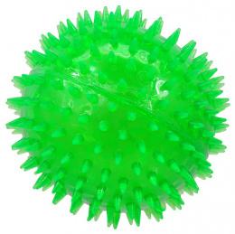 Rotaļlieta suņiem -  DogFantasy Gumijas rotaļlieta, bumba, zaļa, 12cm