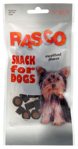 Gardums suņiem - Rasco Rings ar lasi, 50g