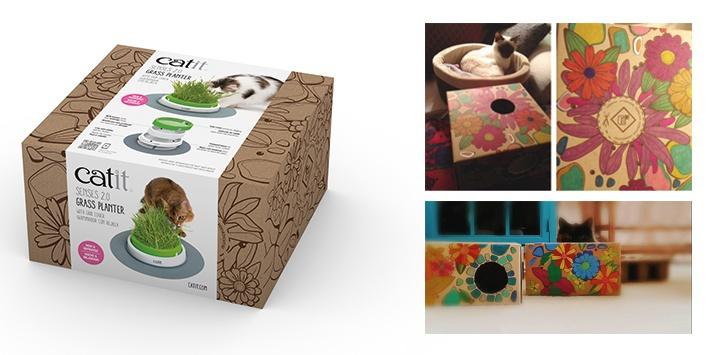Rotaļlieta kaķiem – CAT IT Design Senses Grass Kit 2.0, Green