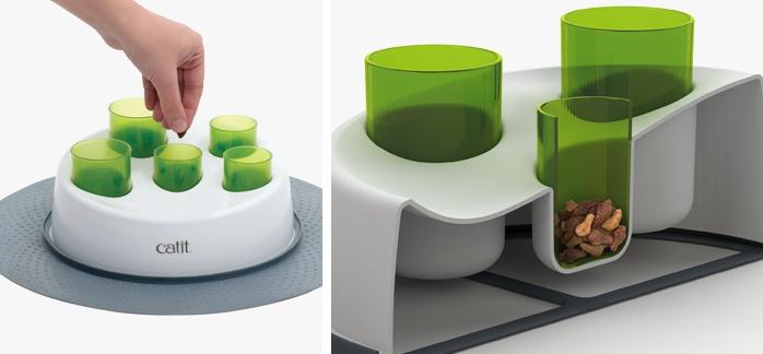 Rotaļlieta kaķiem - CAT IT Design Senses Digger 2.0, green