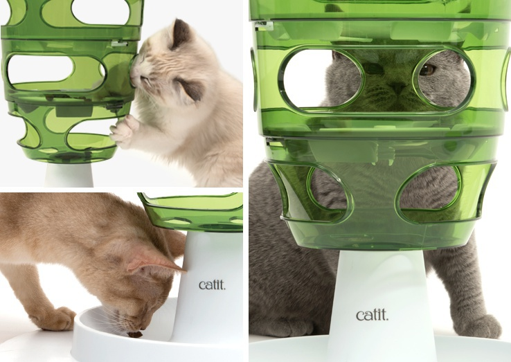 Rotaļlieta kaķiem - CAT IT Design Senses Food Maze 2.0, green
