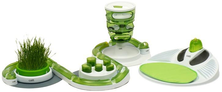 Rotaļlieta kaķiem - CAT IT Design Senses Super Circuit 2.0, green