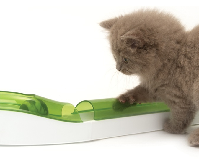 Rotaļlieta kaķiem - CAT IT Design Senses Wave circuit 2.0, green