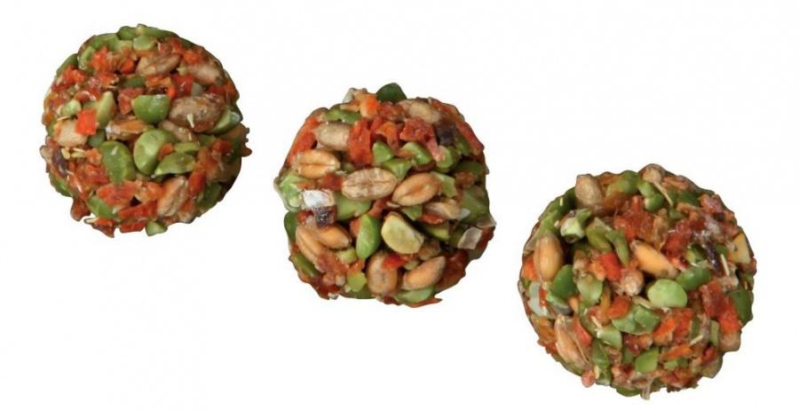 Лакомство для грызунов - Balls with carrot & pea, 6  шт/30 g
