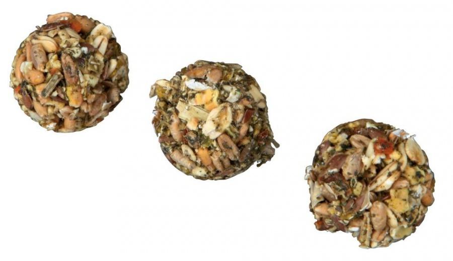 Gardums grauzējiem - Balls with apple & spelt, 6  gab/30 g