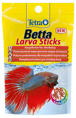 Barība zivīm - Tetra Betta Larva Sticks 5 g