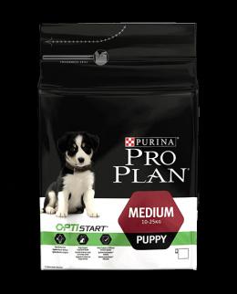 Barība suņiem - Pro Plan Medium Puppy Chicken 3kg
