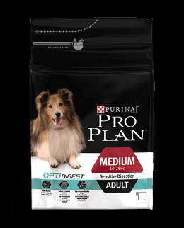 Корм для собак - Pro Plan Medium Adult Sensitive Digestion Chicken 3kg