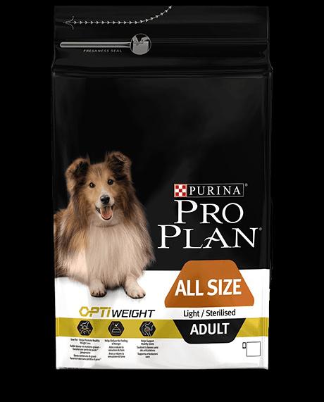 Диетический корм для собак - Pro Plan All Sizes Adult Light Chicken, 14 кг