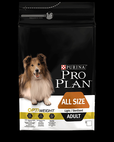 Diētiskā barība suņiem - Pro Plan Dog All Sizes Adult Light Chicken, 14 kg
