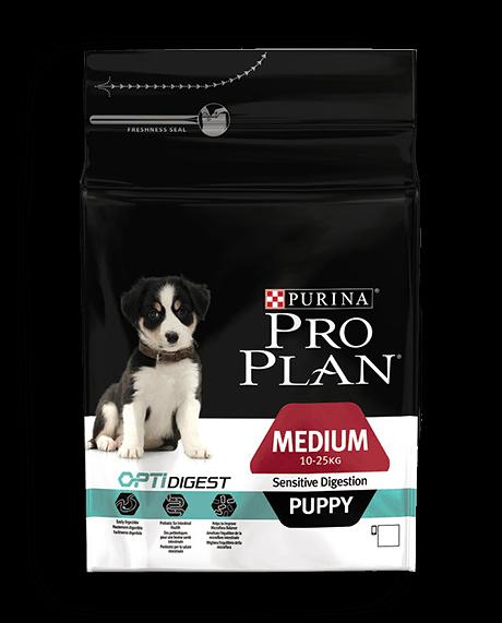 Корм для собак - Pro Plan Medium Puppy Sensitive Digestion Chicken 3kg