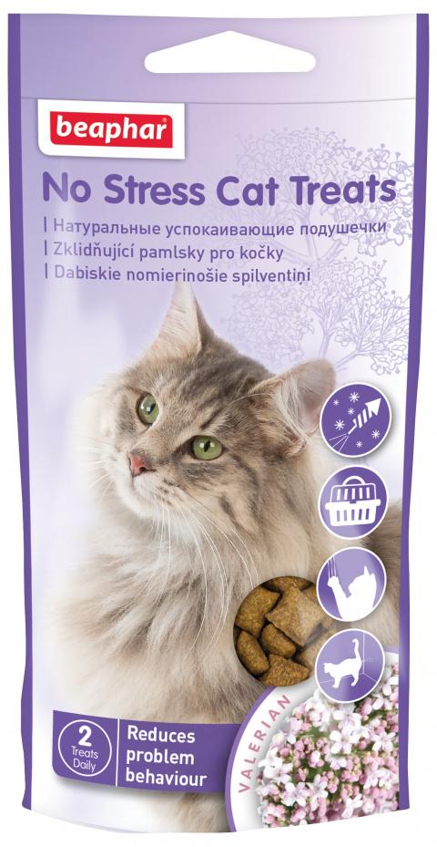 Nomierinošs gardums kaķiem - Beaphar No stress Cat Treats, 35g