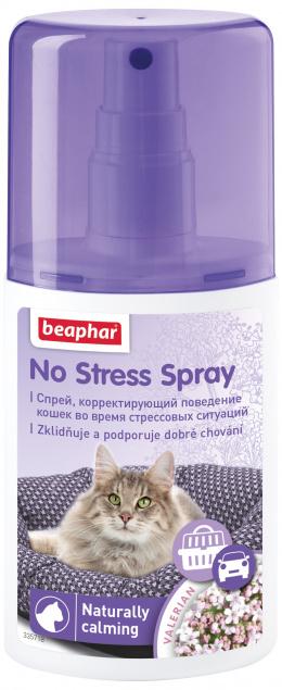 Nomierinošs aerosols kaķiem - Beaphar, No Stress Spray, 125 ml