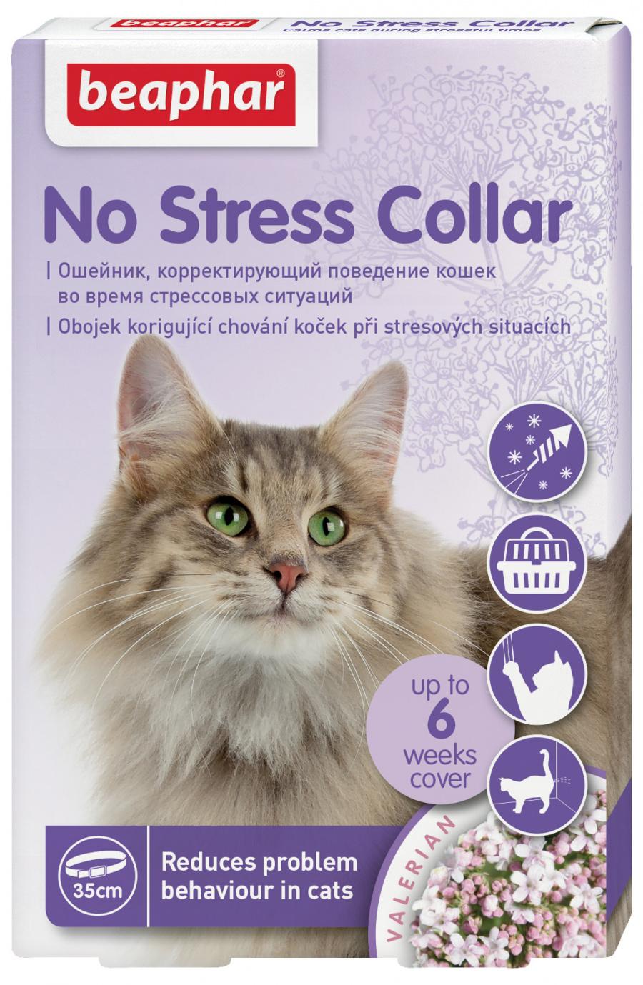 Nomierinošā kaklasiksna kaķiem - Beaphar No stress Cat Collar