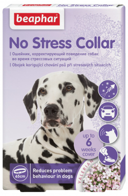 Nomierinošā kaklasiksna suņiem - Beaphar No stress Dog Collar, 65 cm