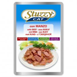 Konservi kaķiem - Stuzzy Cat beef, ar liellopa gaļu, 100 g
