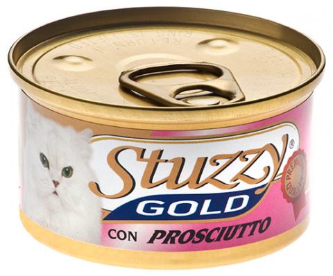 Консервы для кошек - Stuzzy Cat Gold, с ветчиной 85 g